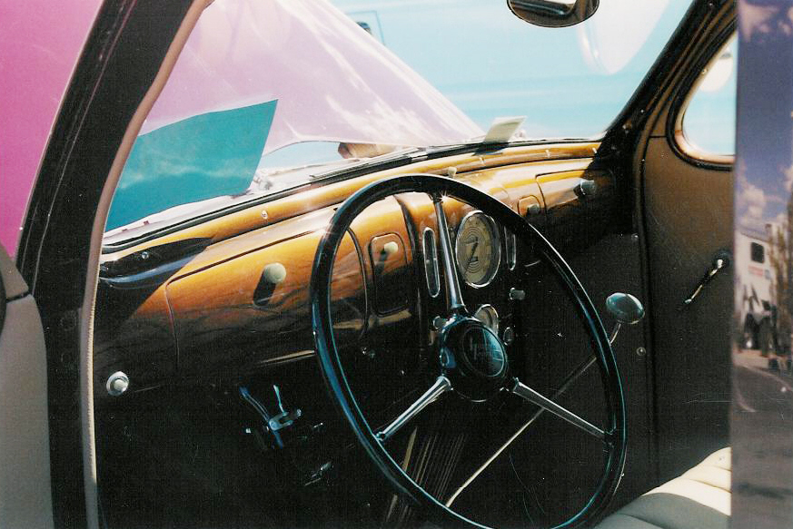 1937 LINCOLN ZEPHYR 4 DOOR SEDAN - Interior - 20842