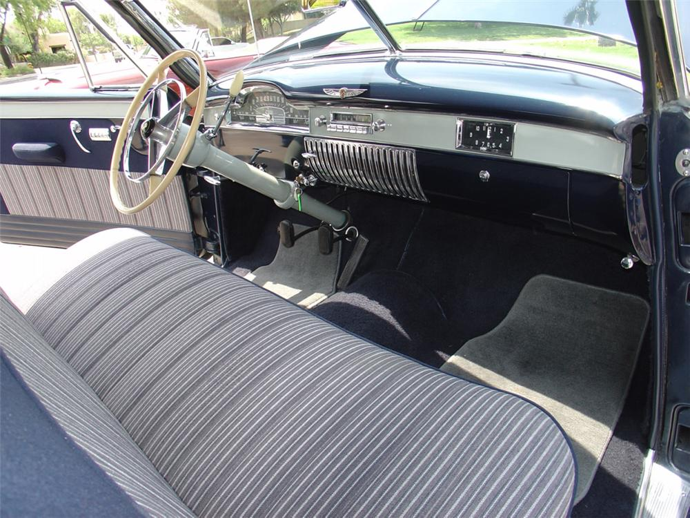 1949 CADILLAC SERIES 62 COUPE DE VILLE - Interior - 20853