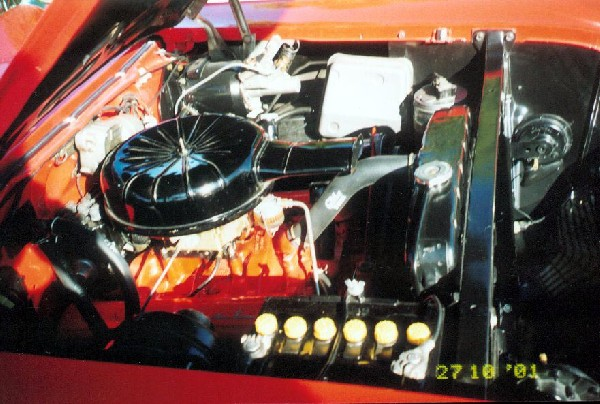 1957 CHEVROLET BEL AIR CONVERTIBLE - Engine - 20855
