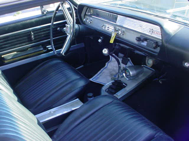 1965 OLDSMOBILE CUTLASS 442 2 DOOR HARDTOP - Interior - 20861