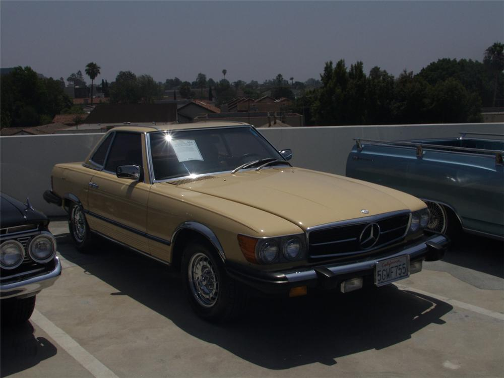1980 MERCEDES-BENZ 450SL ROADSTER - Front 3/4 - 20871