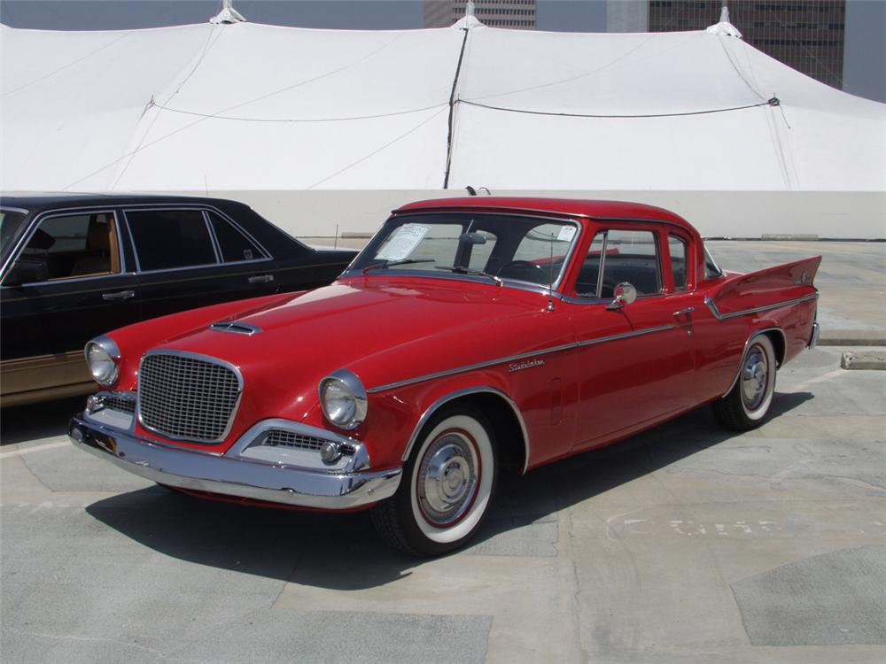 1959 STUDEBAKER SILVER HAWK 2 DOOR COUPE - Front 3/4 - 20876