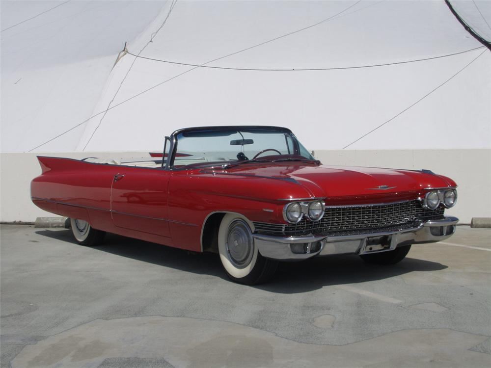 1960 CADILLAC SERIES 62 2 DOOR CONVERTIBLE - 20881