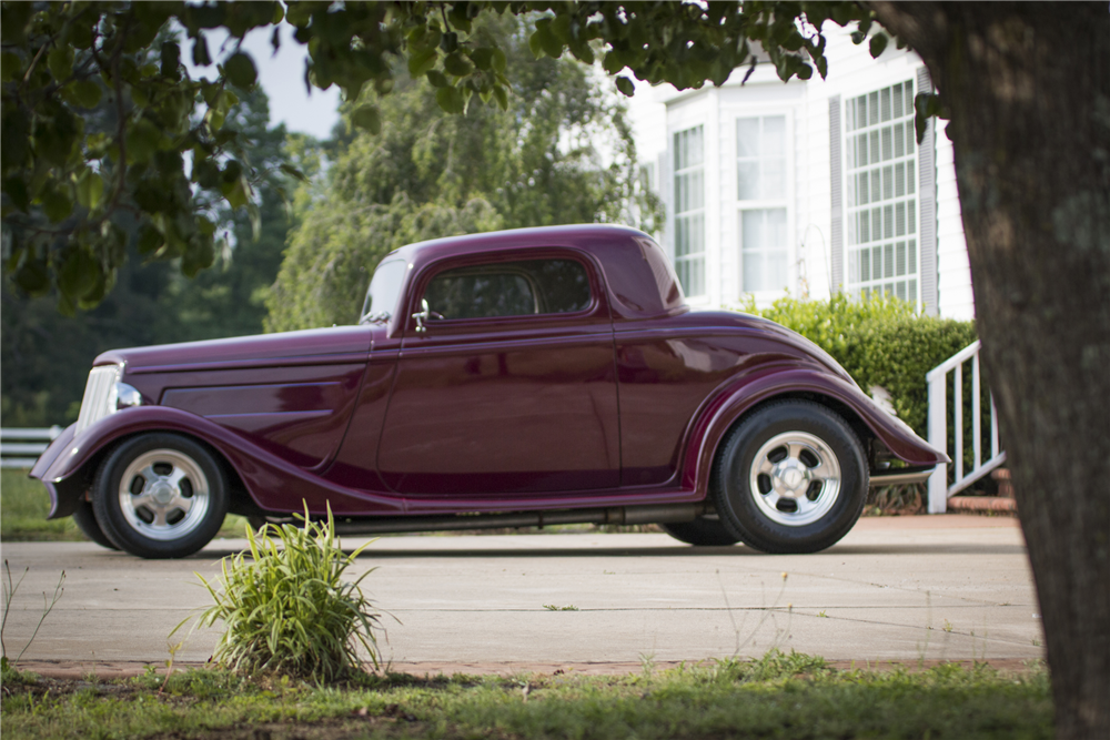 1934 ford 3 window coupe 208818