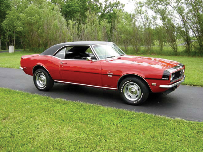 1968 CHEVROLET CAMARO SS COUPE - Front 3/4 - 20885