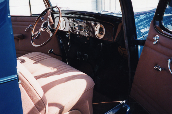 1937 PACKARD 115 3-WINDOW COUPE - Interior - 20890