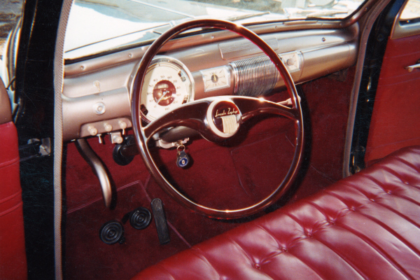 1940 LINCOLN ZEPHYR 3-WINDOW COUPE - Interior - 20891
