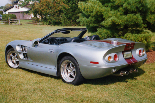 1999 SHELBY SERIES 1 CONVERTIBLE - Rear 3/4 - 20895