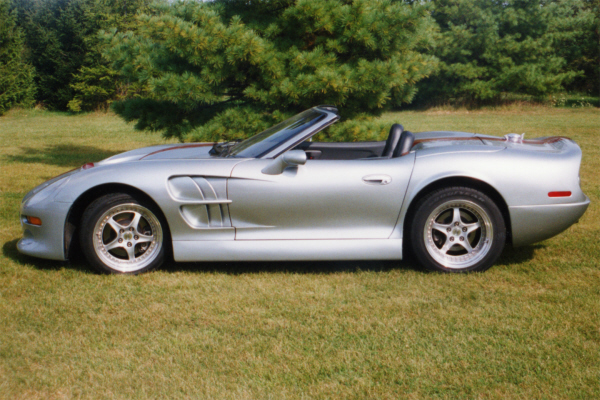 1999 SHELBY SERIES 1 CONVERTIBLE - Side Profile - 20895