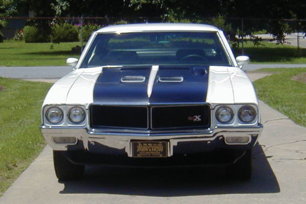 1970 BUICK GSX COUPE - Side Profile - 20900