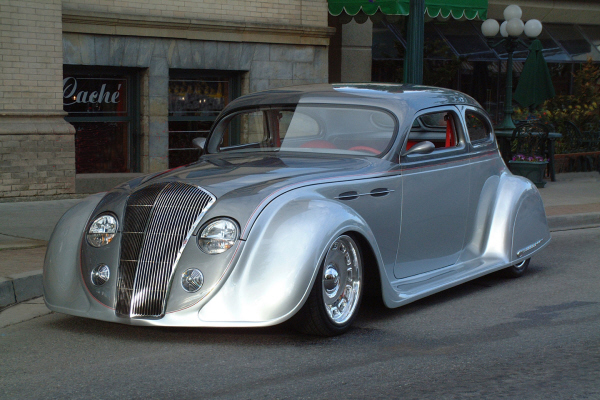 1936 Chrysler Airflow Custom 2 Door Coupe 20907