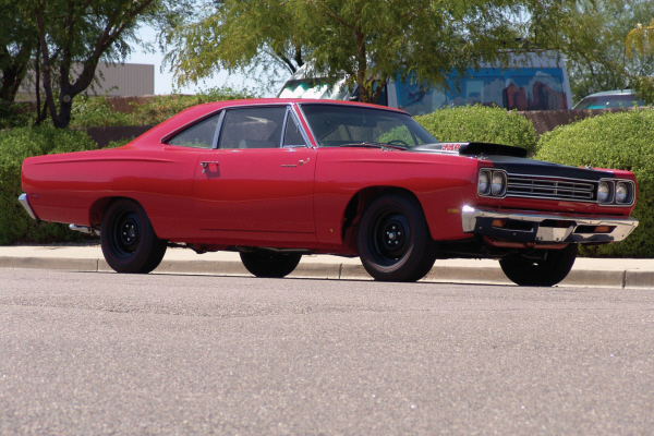 1969 PLYMOUTH ROAD RUNNER 2 DOOR HARDTOP - Front 3/4 - 20917