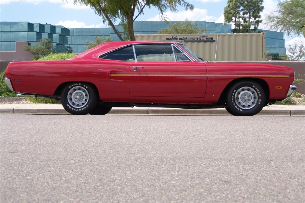 1970 PLYMOUTH ROAD RUNNER 2 DOOR HARDTOP - Side Profile - 20919