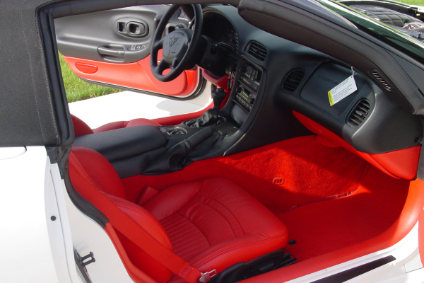 2003 CHEVROLET CORVETTE CONVERTIBLE - Interior - 20921