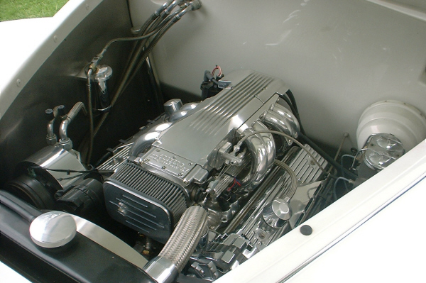 1939 LINCOLN ZEPHYR CONVERTIBLE - Engine - 20923