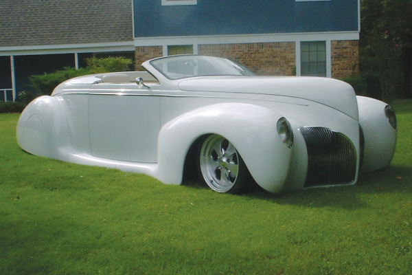 1939 LINCOLN ZEPHYR CONVERTIBLE - Front 3/4 - 20923