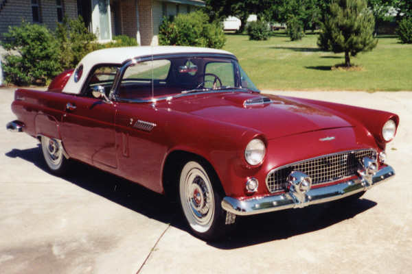 1956 FORD THUNDERBIRD CONVERTIBLE - Front 3/4 - 20932
