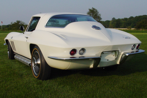 1966 CHEVROLET CORVETTE 427 450/425 TANKER COUPE - Rear 3/4 - 20935