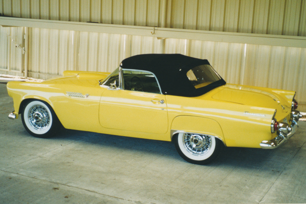 1955 FORD THUNDERBIRD CONVERTIBLE - Front 3/4 - 20937