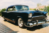 1955 CHEVROLET BEL AIR CONVERTIBLE STREET ROD -  - 20954