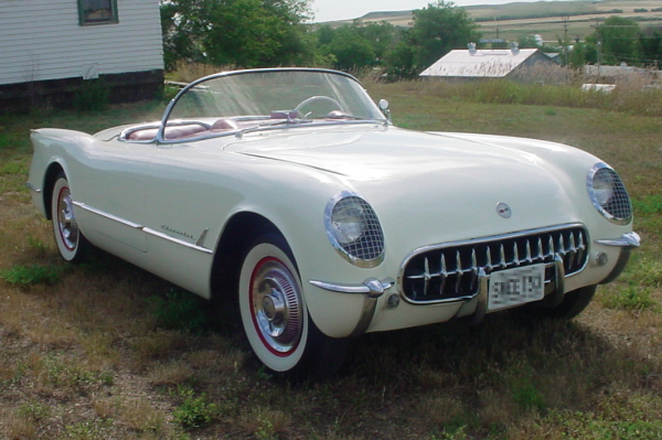 1953 CHEVROLET CORVETTE ROADSTER - Front 3/4 - 20955