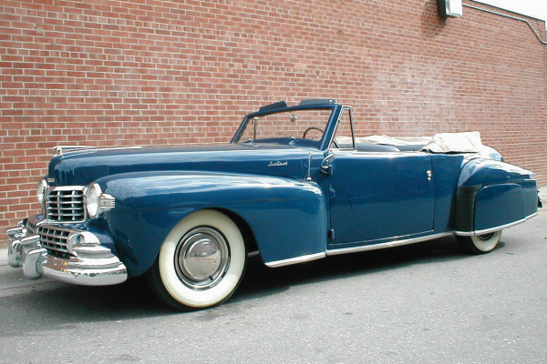 1948 LINCOLN CONTINENTAL CABRIOLET - Front 3/4 - 20956