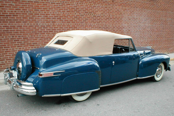 1948 LINCOLN CONTINENTAL CABRIOLET - Rear 3/4 - 20956