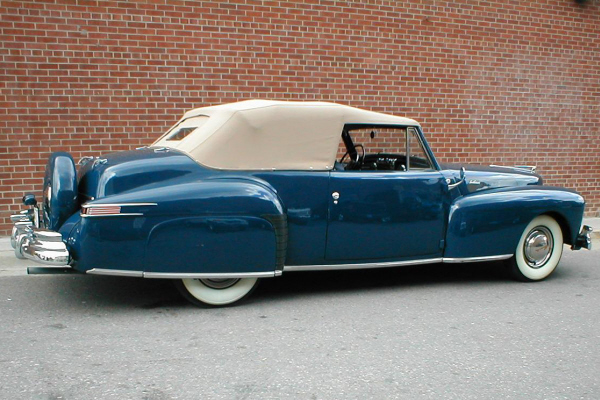 1948 LINCOLN CONTINENTAL CABRIOLET - Side Profile - 20956