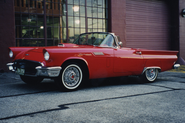 1957 FORD THUNDERBIRD CONVERTIBLE - Front 3/4 - 20964