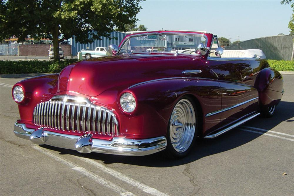 1946 BUICK SUPER 8 CONVERTIBLE - Front 3/4 - 20968