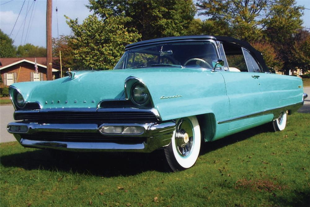 1956 LINCOLN PREMIER CONVERTIBLE - Front 3/4 - 20972
