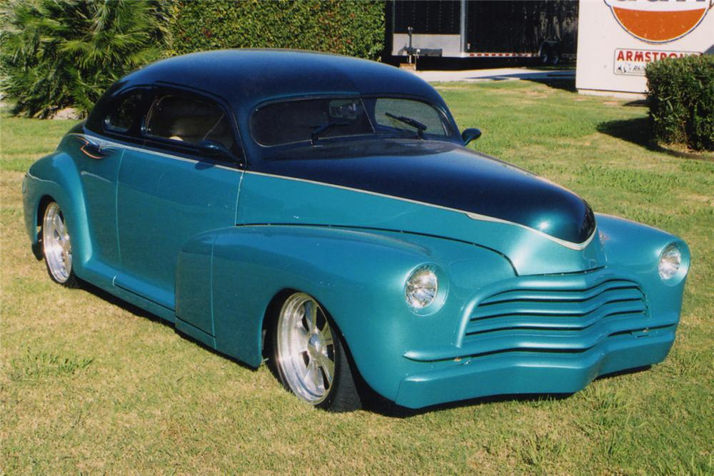 1946 CHEVROLET 2 DOOR COUPE STREET ROD 20973 on plymouth roadster