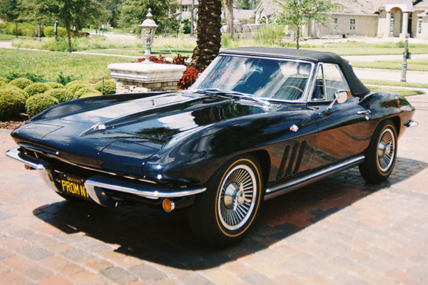 1965 CHEVROLET CORVETTE 327 CONVERTIBLE - Engine - 20975