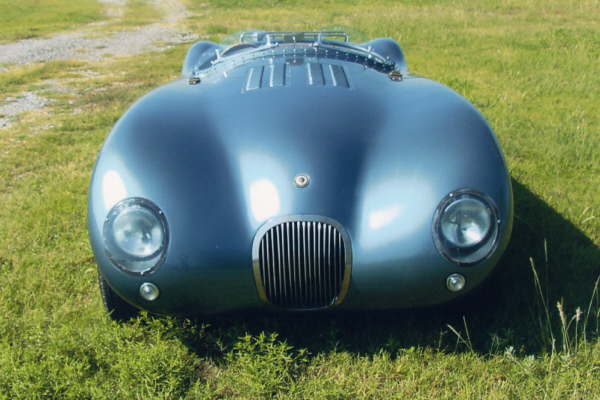 1953 JAGUAR C-TYPE RE-CREATION - Side Profile - 20980