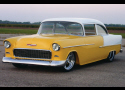 1955 CHEVROLET 210 CUSTOM 2 DOOR SEDAN WITH BELAIR -  - 20984