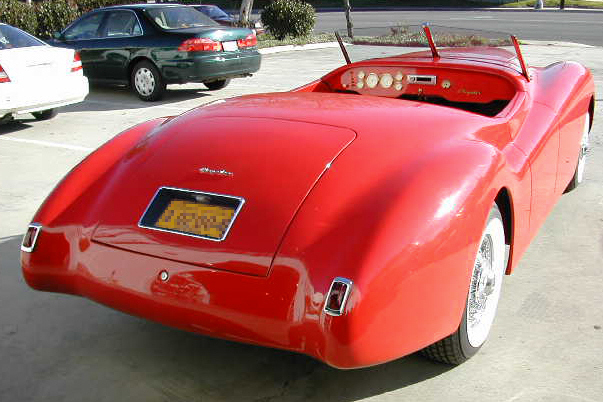 1940 CHRYSLER NEWPORT ROADSTER - Rear 3/4 - 20991