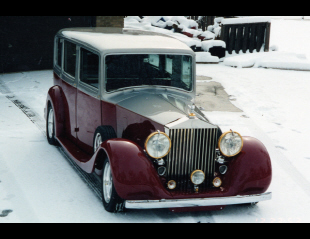 1938 ROLLS-ROYCE PHANTOM III CUSTOM 4 DOOR SEDAN -  - 20992