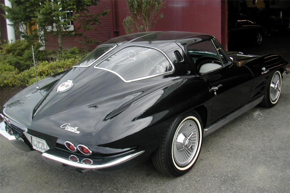 Split Window Corvette >> 1963 CHEVROLET CORVETTE FI SPLIT WINDOW COUPE - 20996