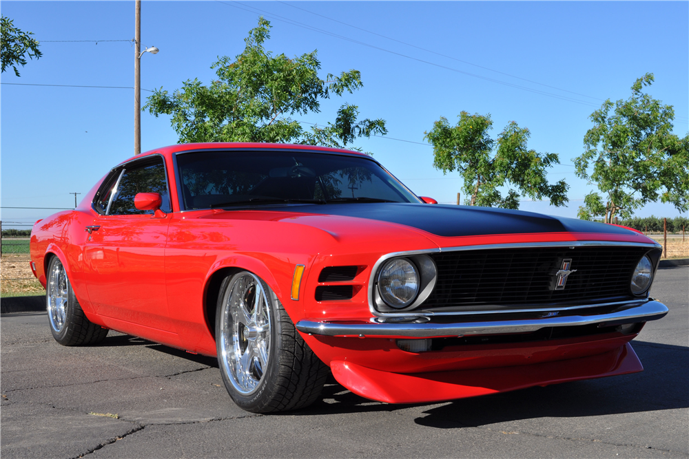 lot 790 1970 ford mustang custom fastback