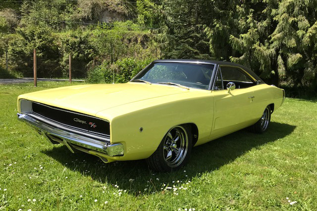 1968 DODGE CHARGER R/T CUSTOM HARDTOP - Front 3/4 - 209989