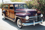 1948 PLYMOUTH P-15 DELUXE WOODIE WAGON -  - 21001