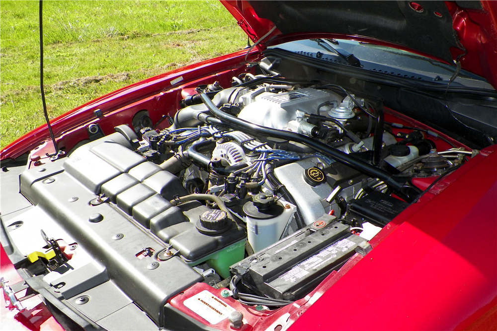 1996 FORD MUSTANG COBRA CONVERTIBLE - Engine - 210049
