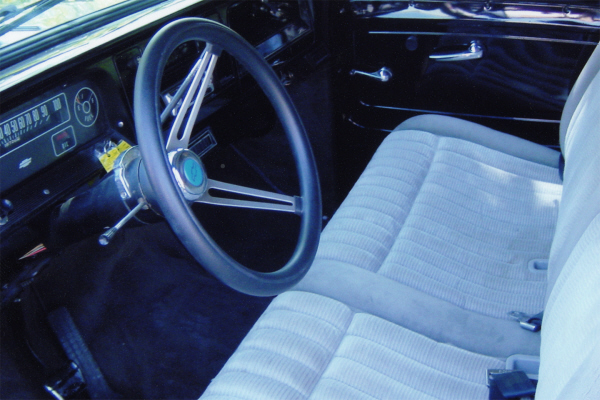 1964 CHEVROLET CUSTOM PICKUP - Interior - 21013