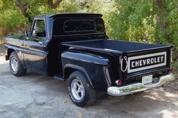 1964 CHEVROLET CUSTOM PICKUP - Rear 3/4 - 21013