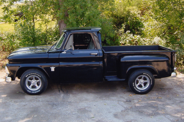 1964 CHEVROLET CUSTOM PICKUP - Side Profile - 21013