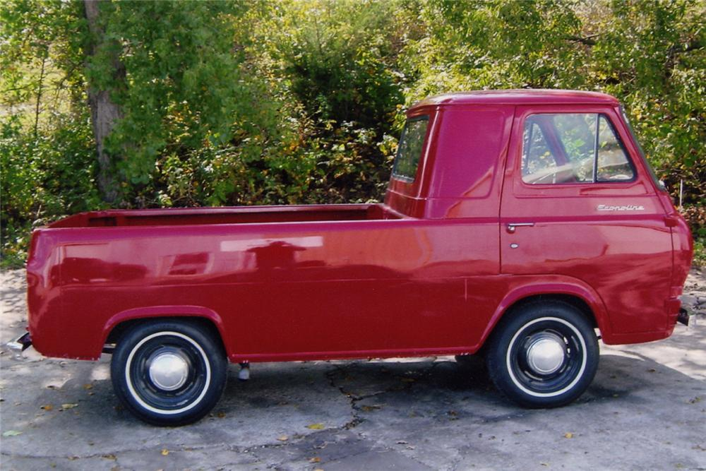 1961 FORD ECONOLINE PICKUP - Front 3/4 - 21022