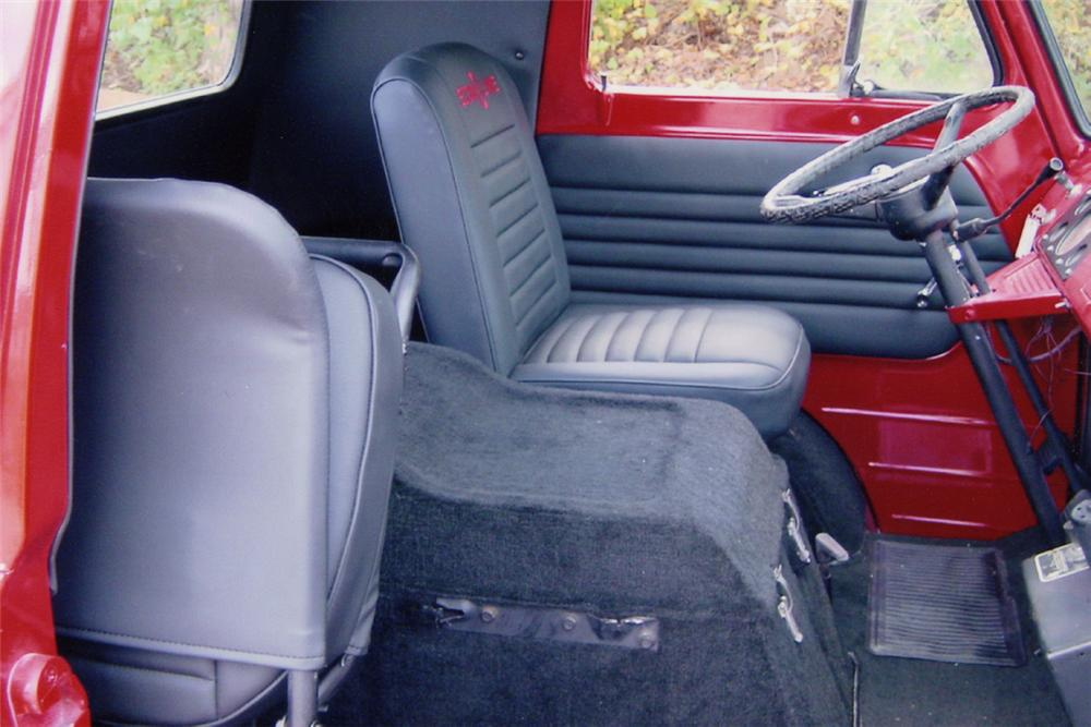 1961 FORD ECONOLINE PICKUP - Interior - 21022