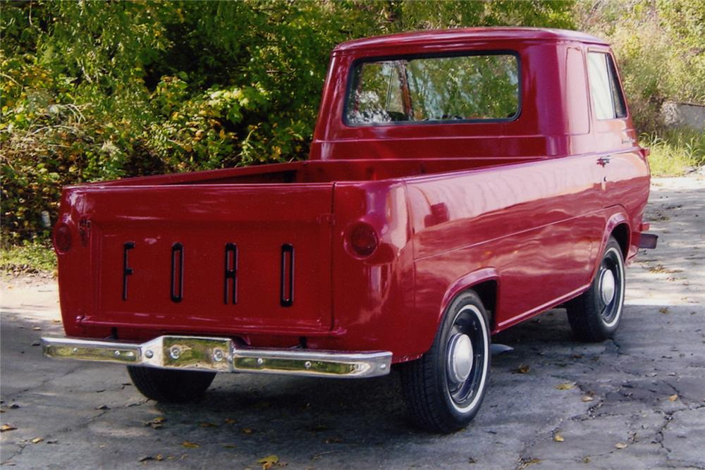 1961 FORD ECONOLINE PICKUP - Rear 3/4 - 21022