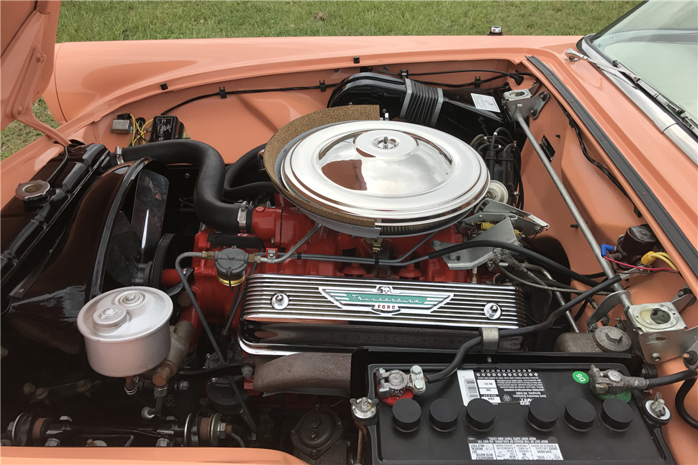 1957 FORD THUNDERBIRD CONVERTIBLE - Engine - 210228