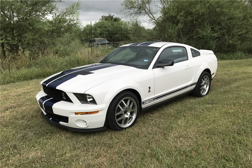 2007 FORD SHELBY GT500 - Front 3/4 - 210231